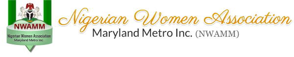 Nigerian Women Association, Maryland Metro Inc. (NWAMM) - logo